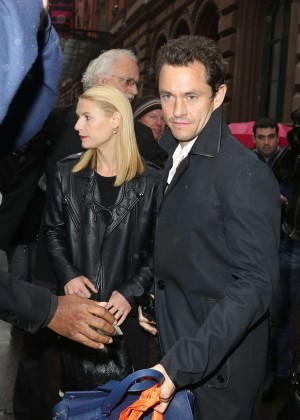 Claire Danes - Leaving the Public Theater in New York