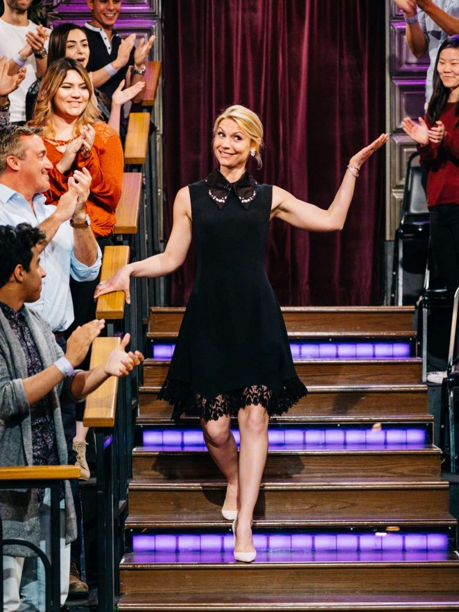 Claire Danes on 'The Late Late Show with James Corden' in Los Angeles