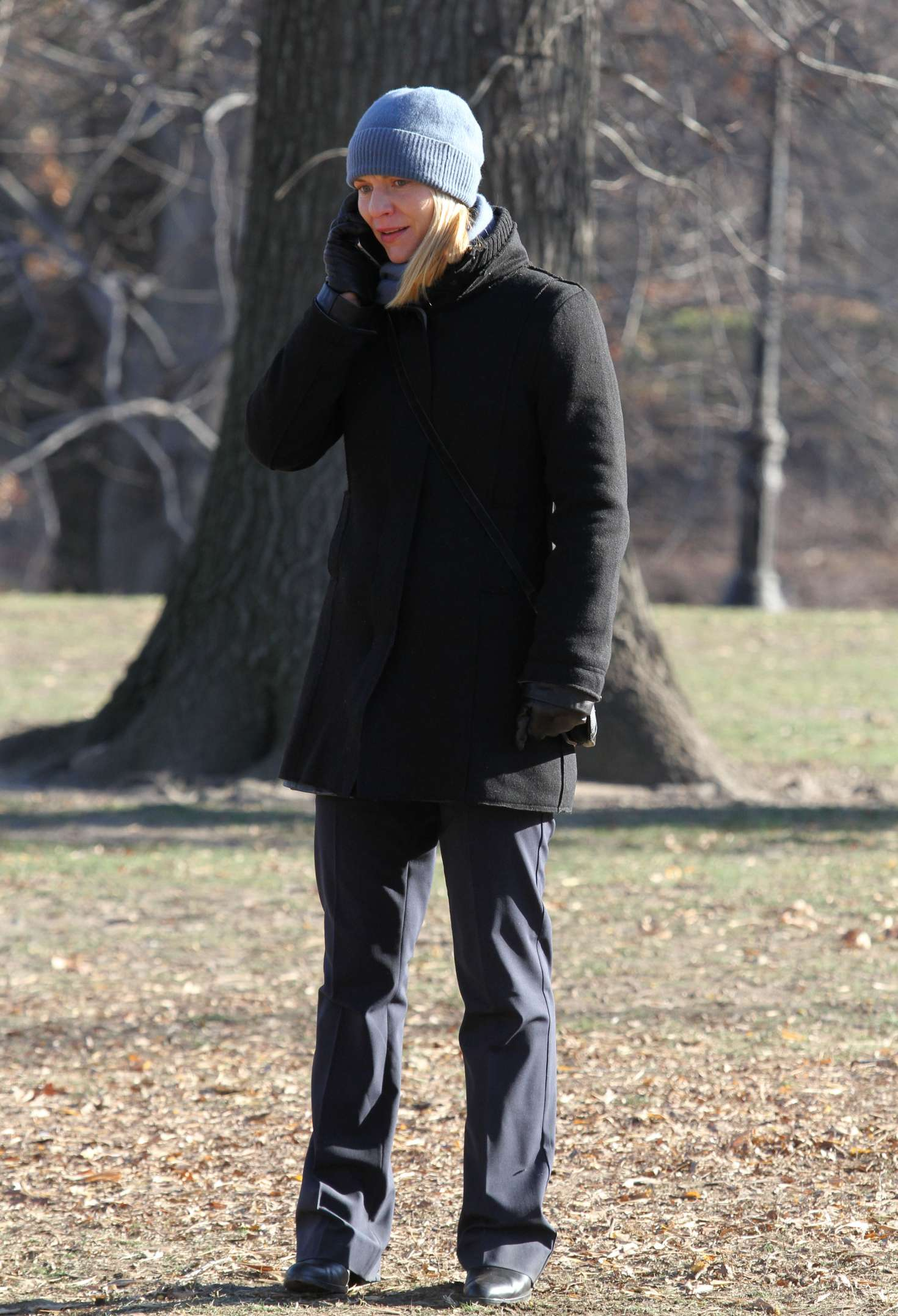 Claire Danes 2016 : Claire Danes on the set of Homeland -11