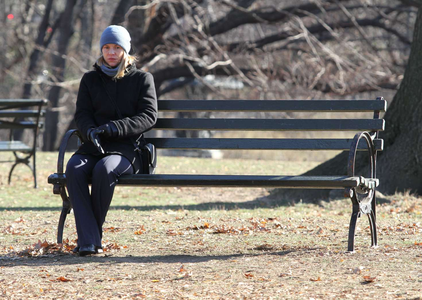 Claire Danes 2016 : Claire Danes on the set of Homeland -15
