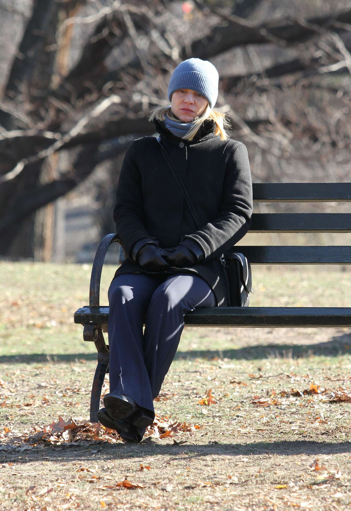 Claire Danes 2016 : Claire Danes on the set of Homeland -16
