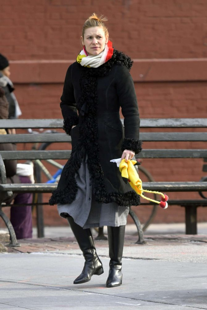 Claire Danes - Out in New York