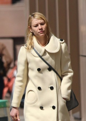 Claire Danes out in NY