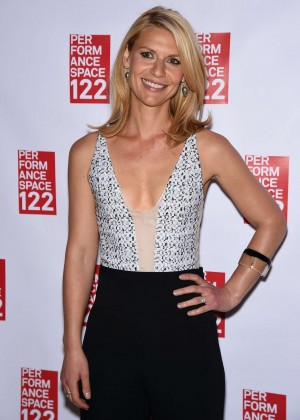 Claire Danes - Performance Space 122 2015 Spring Gala in NYC