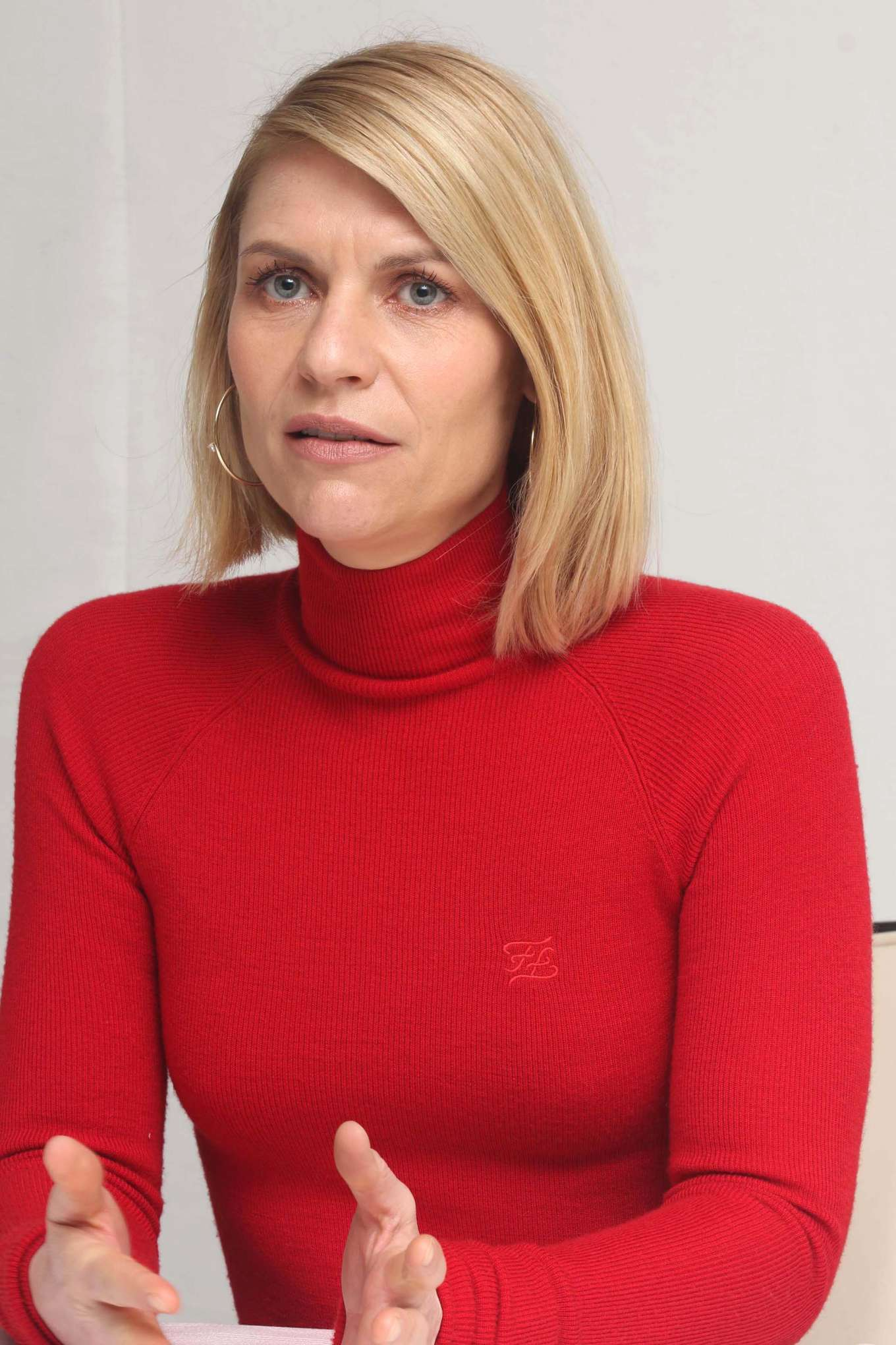 Claire Danes - Press Conference for Homeland in Los Angeles