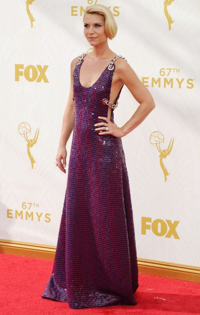 Claire Danes - 2015 Emmy Awards in LA