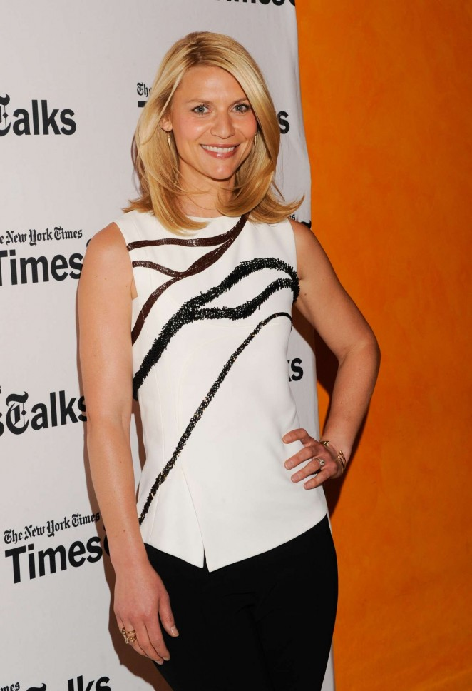 Claire Danes - 'Times Talks' at TheTimesCenter in New York