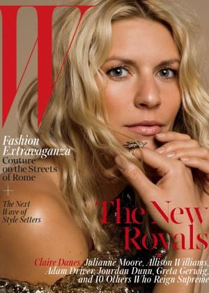Claire Danes - W Magazine (October 2015)