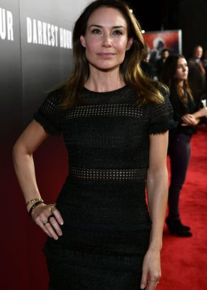 Claire Forlani - 'Darkest Hour' Premiere in Los Angeles