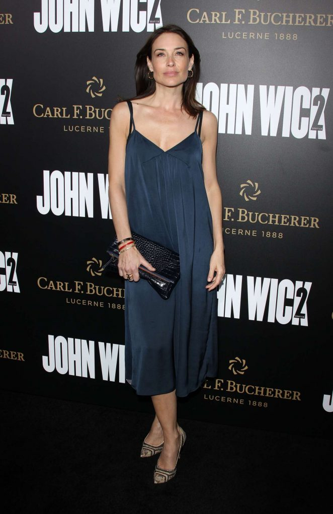 Claire Forlani - 'John Wick Chapter 2' Premiere in Los Angeles