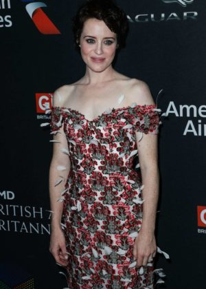 Claire Foy - 2017 BAFTA Los Angeles Britannia Awards in LA