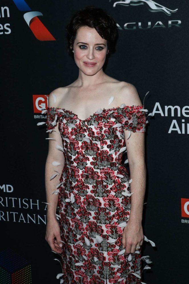 Claire Foy - 2017 BAFTA Los Angeles Britannia Awards in LA