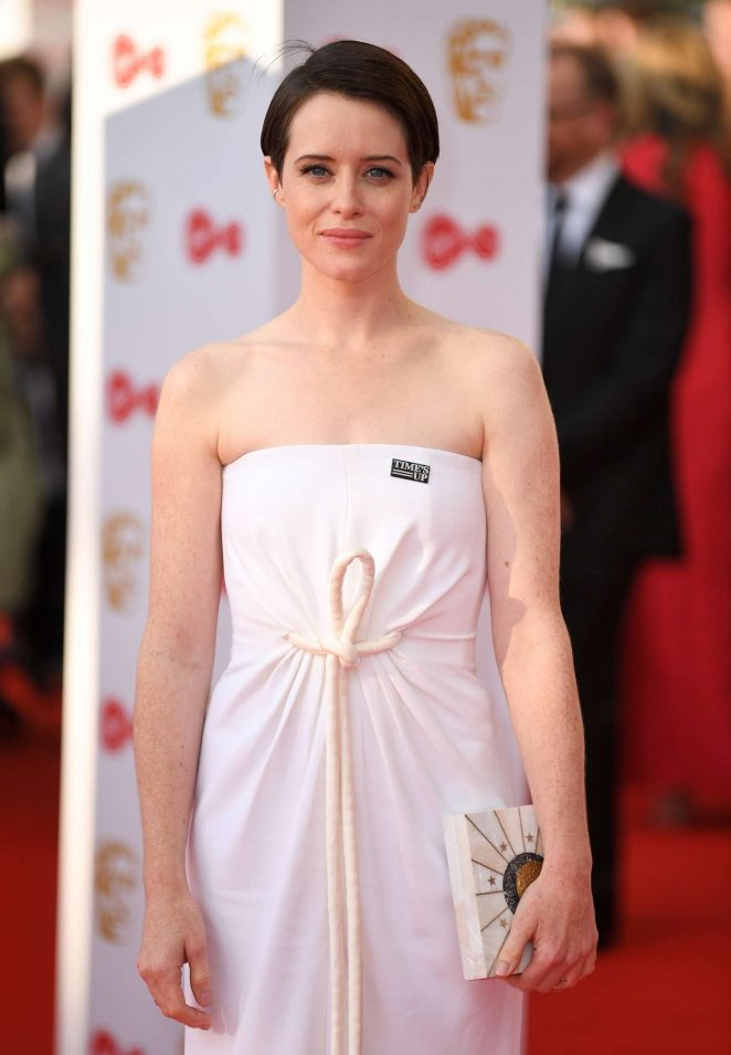 Claire Foy - 2018 British Academy Television Awards