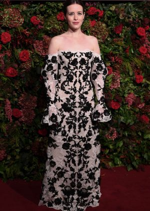 Claire Foy - 2018 Evening Standard Theatre Awards in London