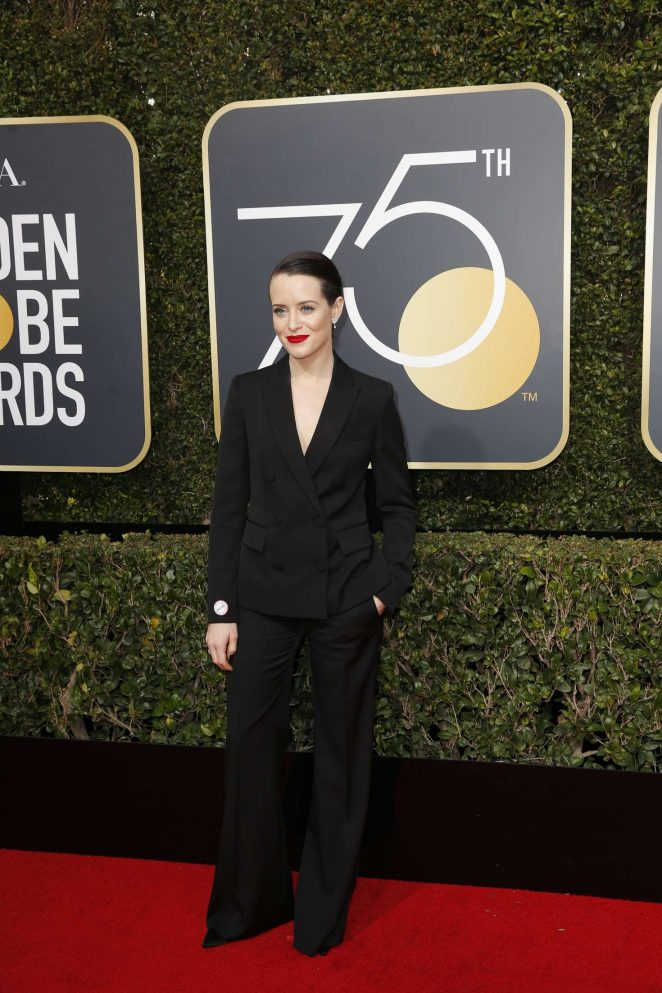 Claire Foy - 2018 Golden Globe Awards in Beverly Hills