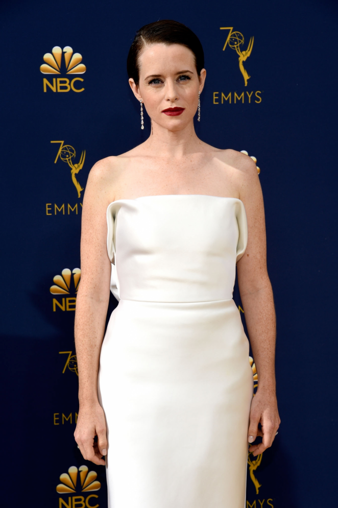 Claire Foy - 2018 Emmy Awards in LA