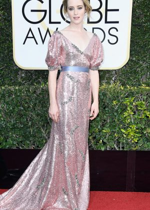 Claire Foy - 74th Annual Golden Globe Awards in Beverly Hills