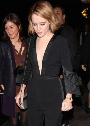 Claire Foy - Audi Arrivals at W Magazine's Best Performances Party in LA