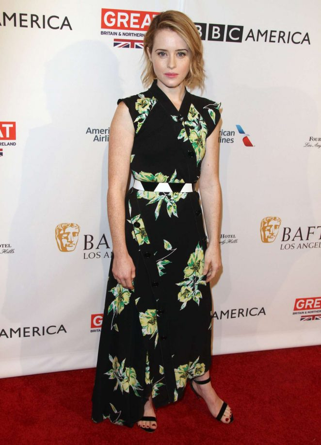 Claire Foy - BAFTA LA Tea Party 2017 in Beverly Hills