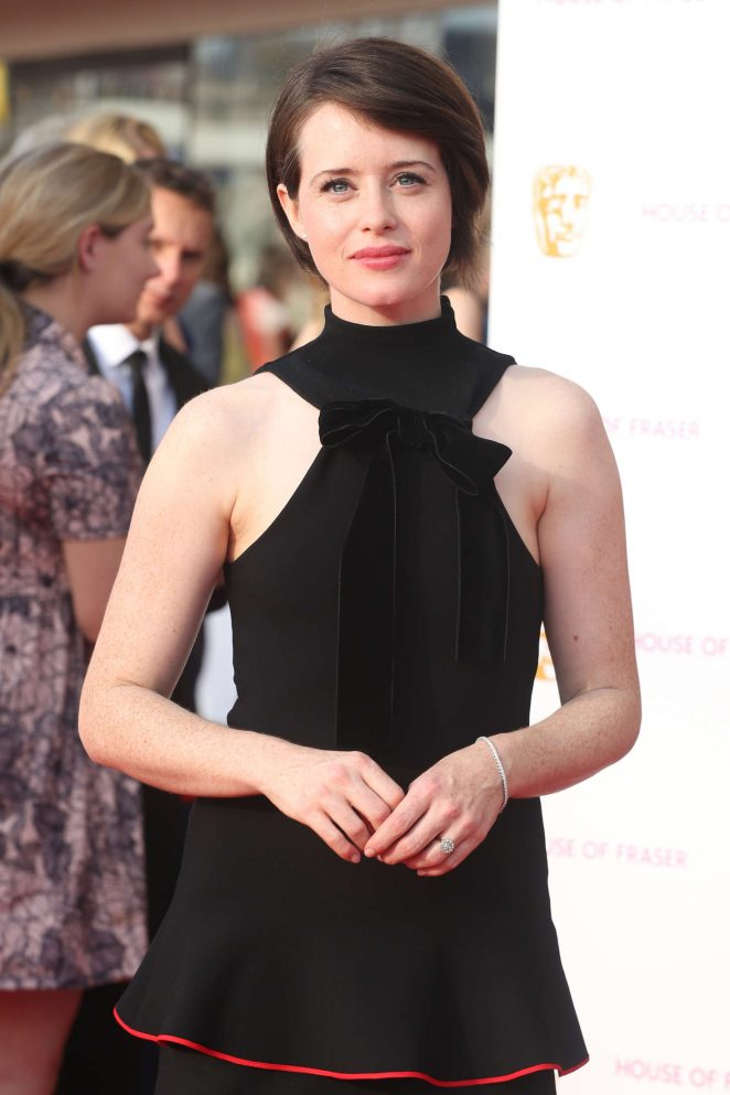 Claire Foy - BAFTA TV Awards 2016 in London