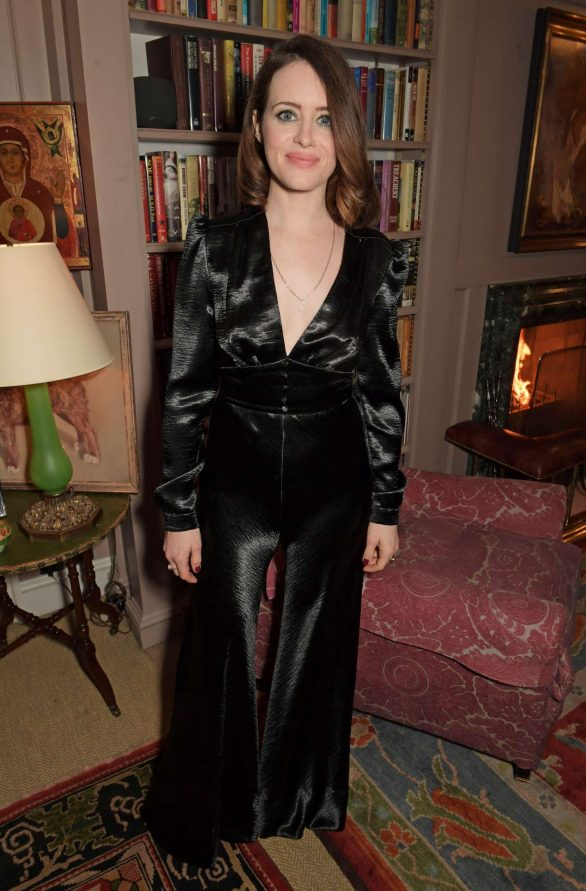 Claire Foy - Charles Finch and Chanel Pre-BAFTA Party in London