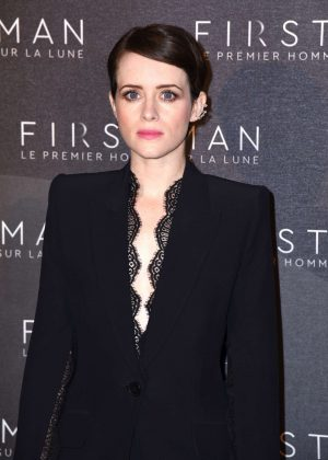 Claire Foy - 'First Man' Premiere in Paris
