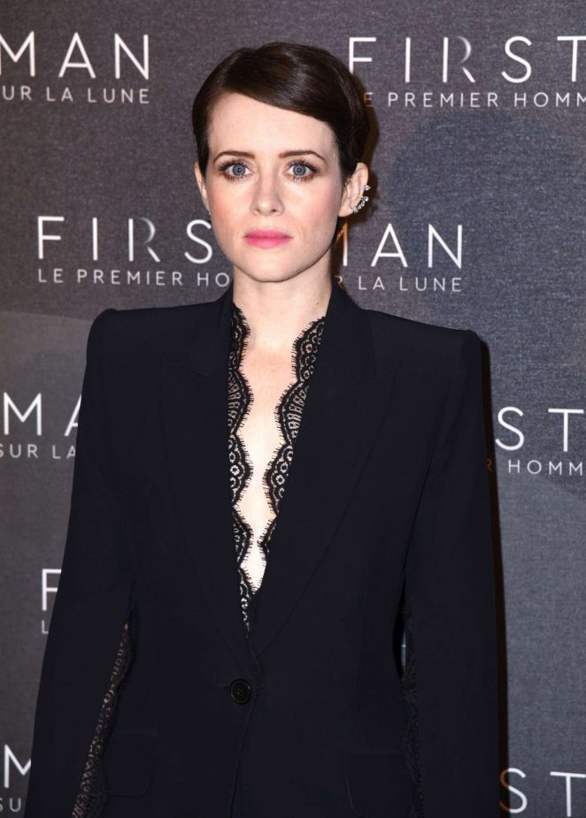 Claire Foy - 'First Man' Premiere in Paris