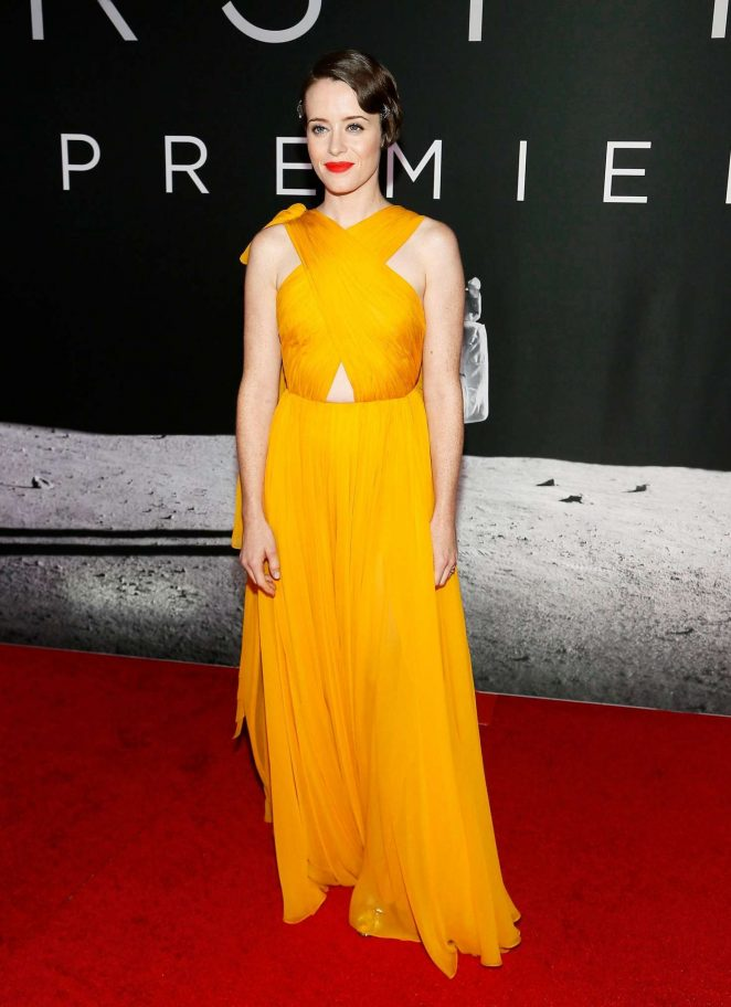 Claire Foy - 'First Man' Premiere in Washington