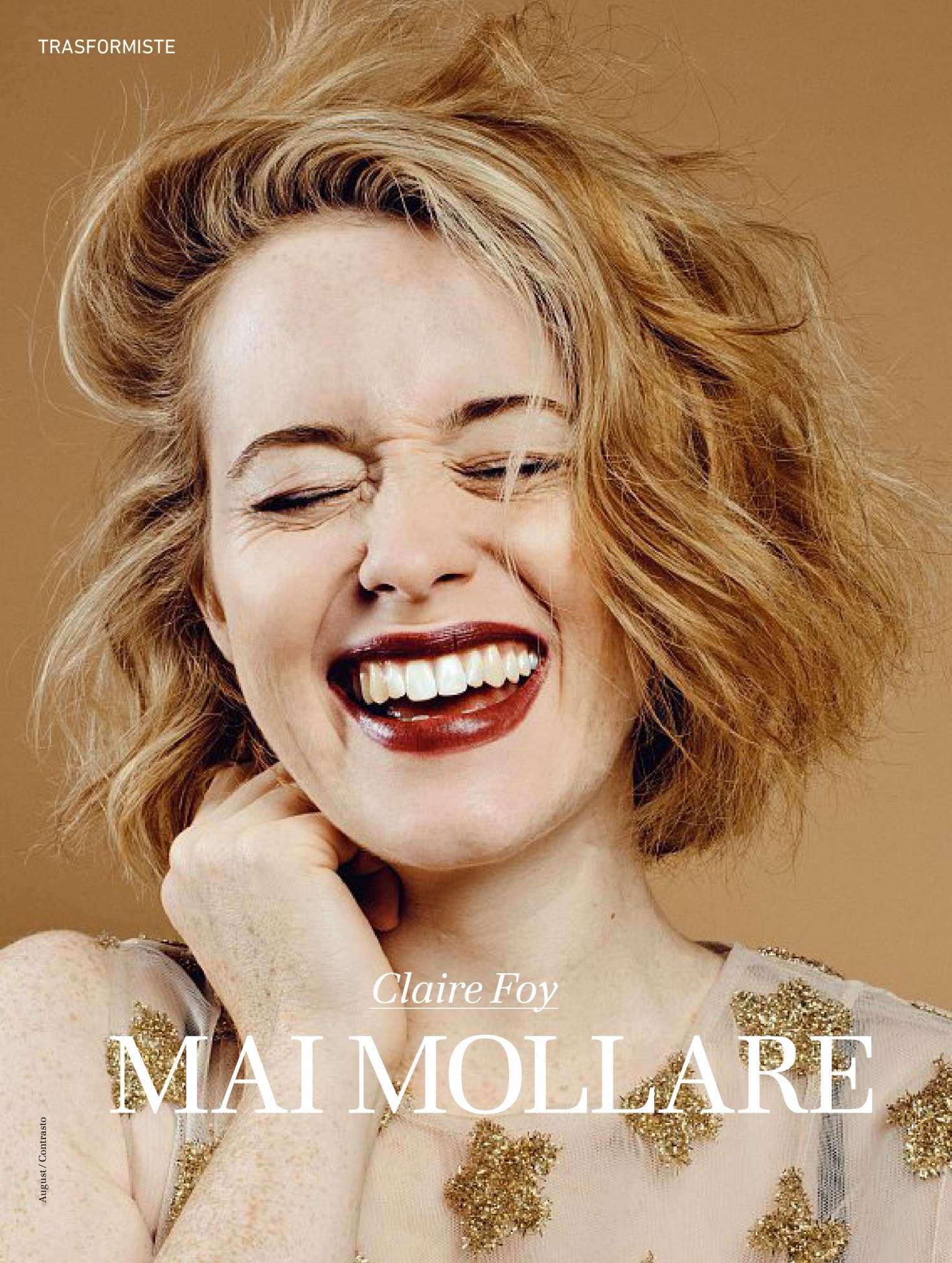 Claire Foy Io Donna Magazine 2017 02 Gotceleb