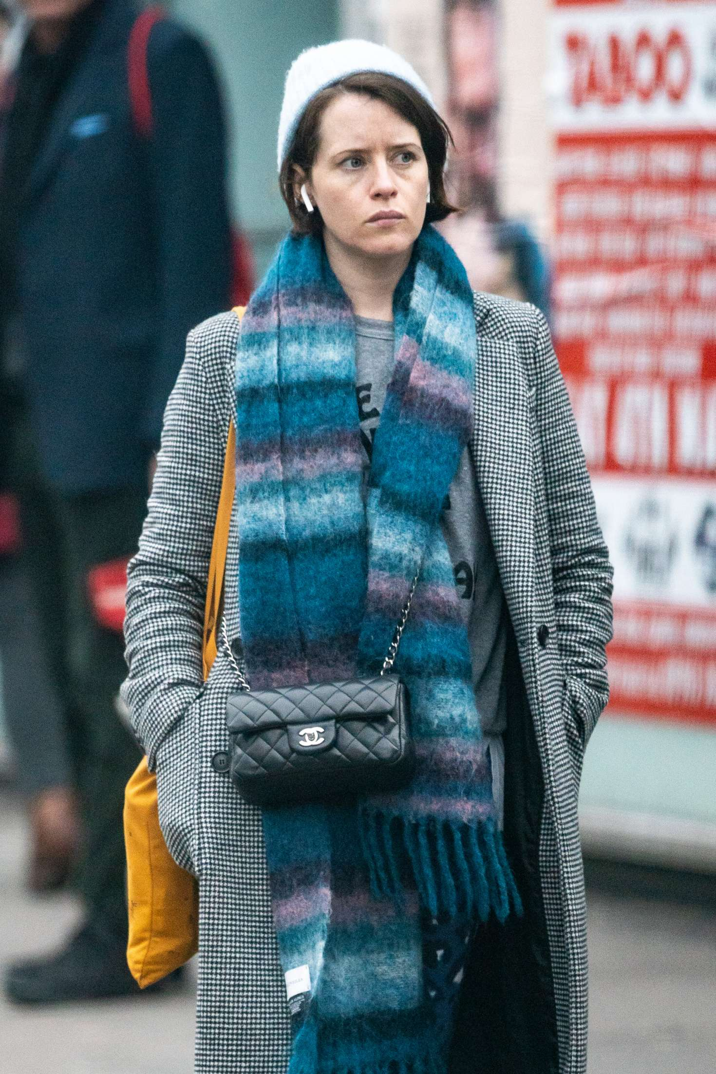 Claire Foy - Leaving Bodyism in London