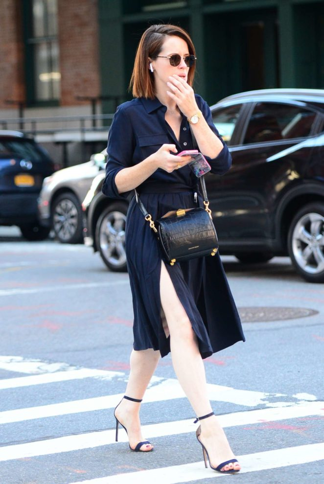 Claire Foy - Out and about in SoHo
