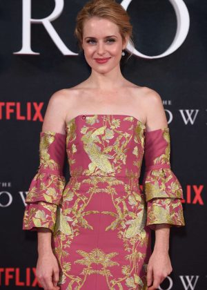 Claire Foy - 'The Crown' Premiere in London