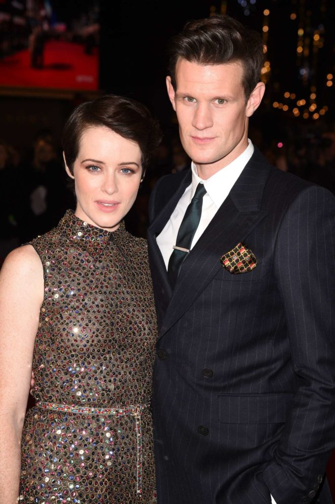 Claire Foy - 'The Crown' season 2 premiere in London