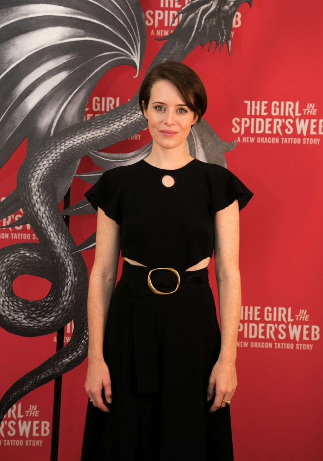 Claire Foy - 'The Girl in the Spider's Web' Photocall in Los Angeles