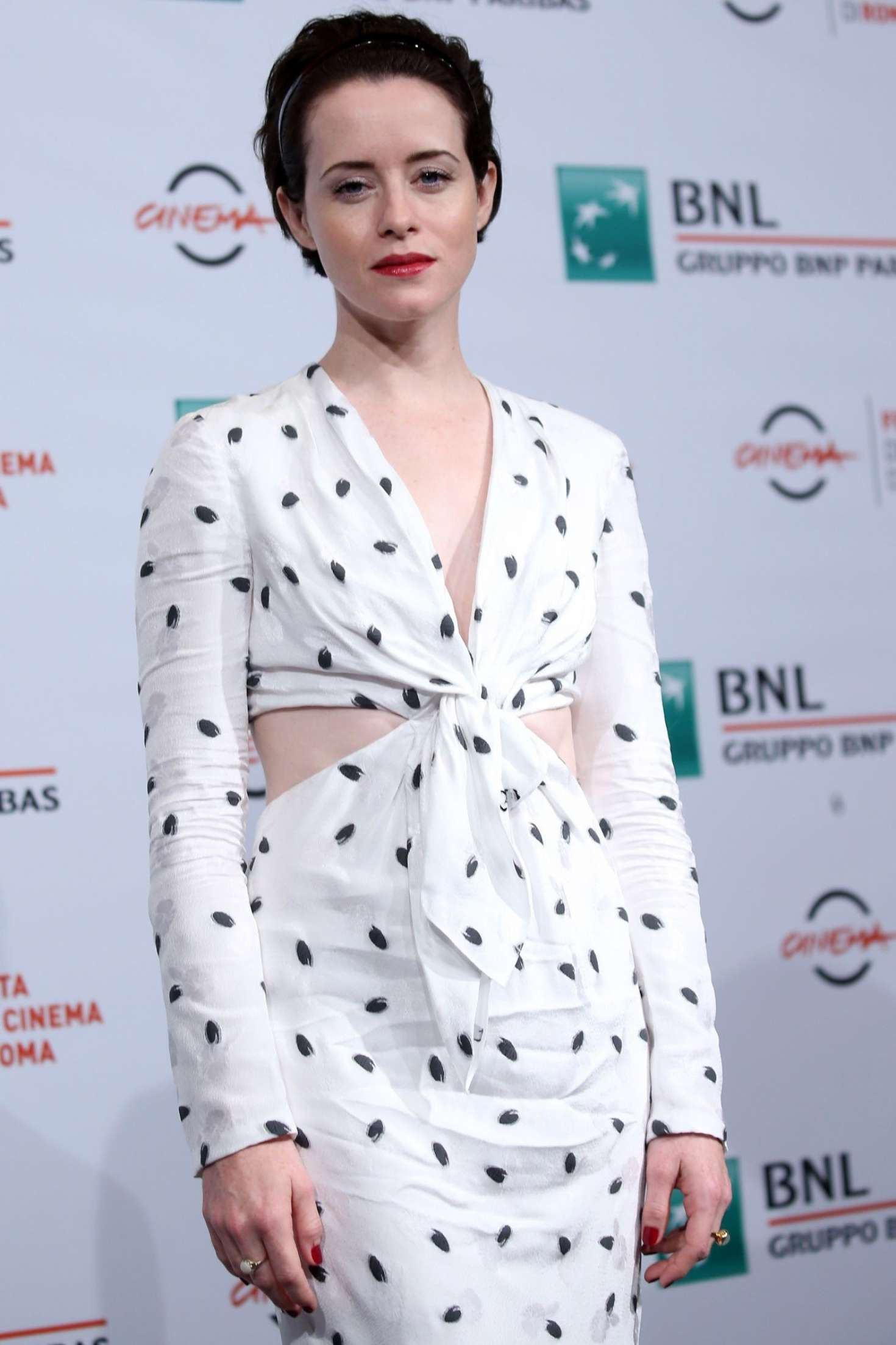 Claire Foy - 'The Girl In The Spider's Web' Photocall in Rome