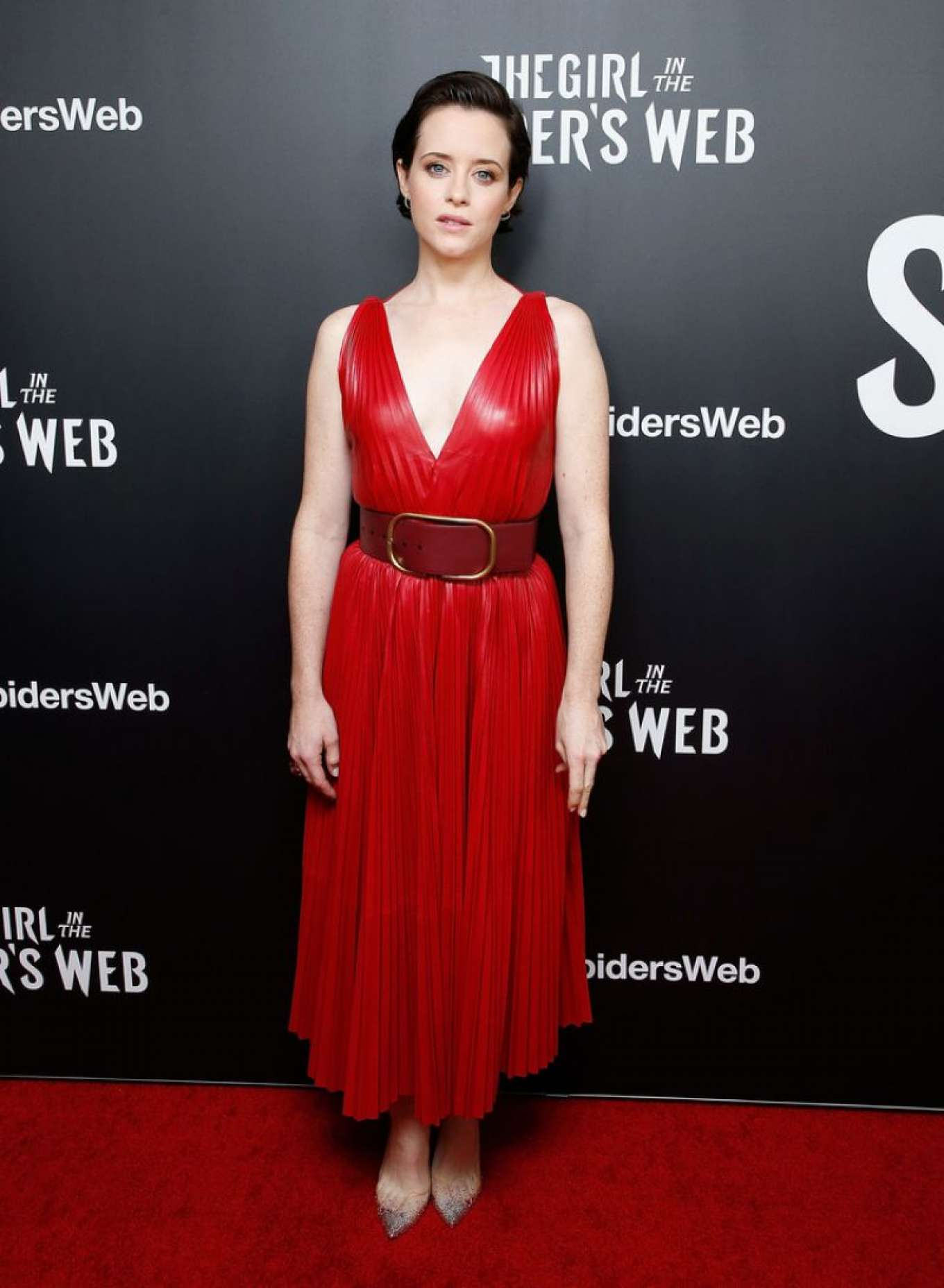 Claire Foy 2018 : Claire Foy: The Girl in The Spiders Web Screening -01
