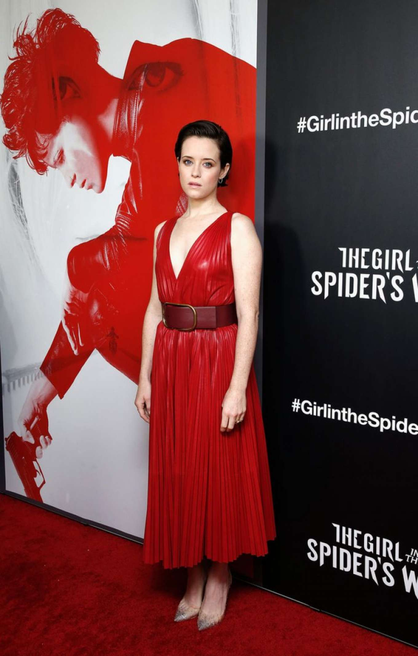 Claire Foy 2018 : Claire Foy: The Girl in The Spiders Web Screening -03