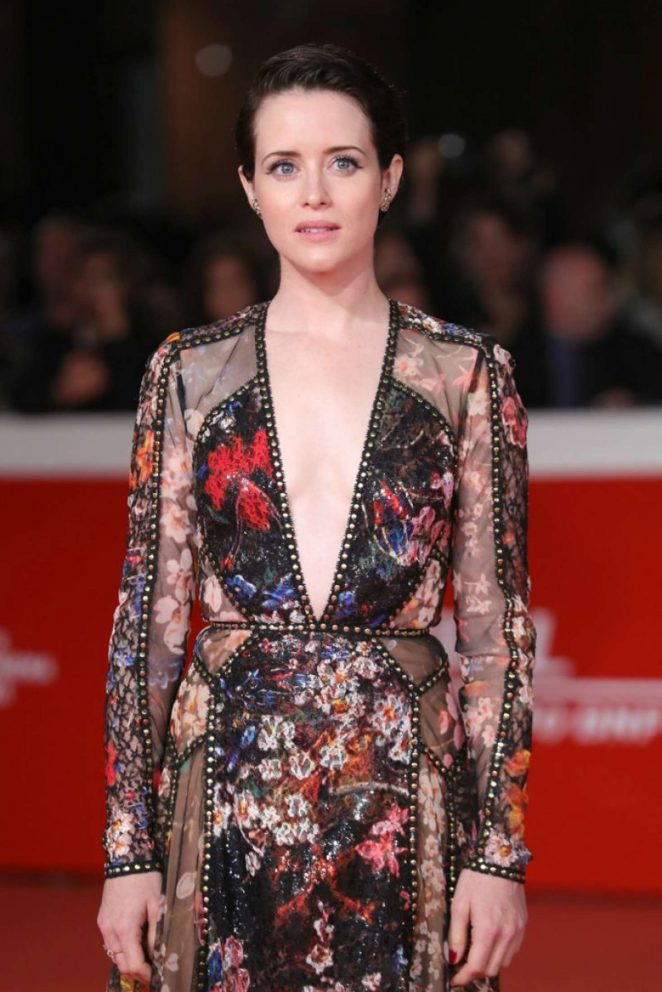Claire Foy - 'The Girl In The Spider's Web' Screening in Rome
