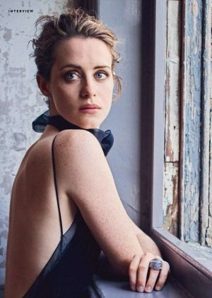 Claire Foy - Town and Country Philippines (April 2018)