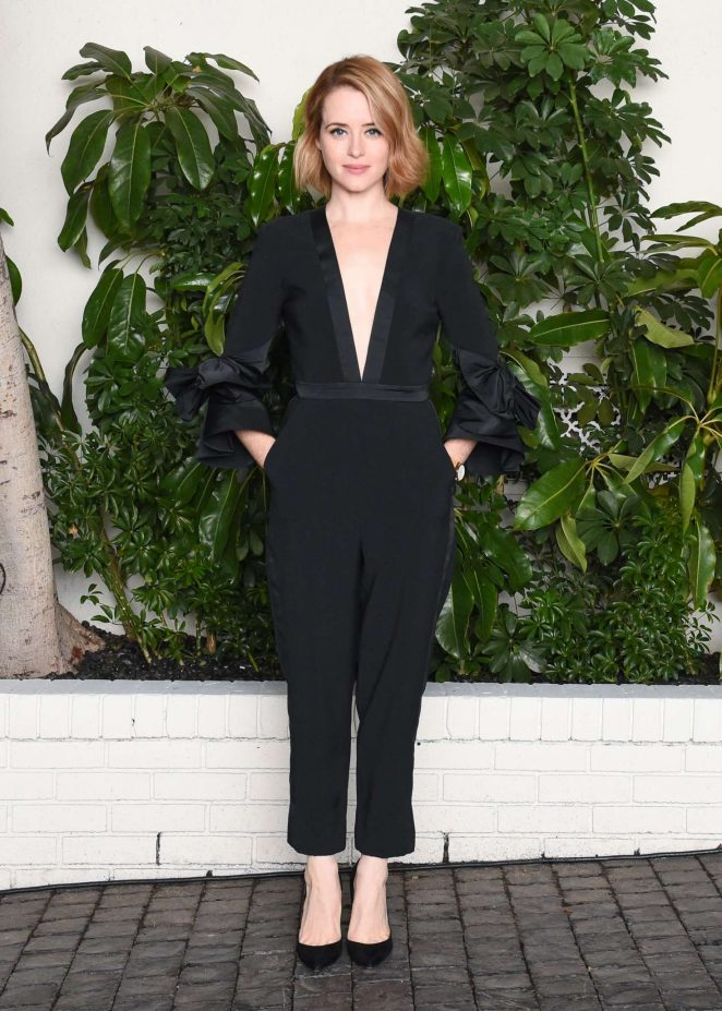 Claire Foy - W Magazine Celebrates Best Performances Portfolio & Golden Globes in LA