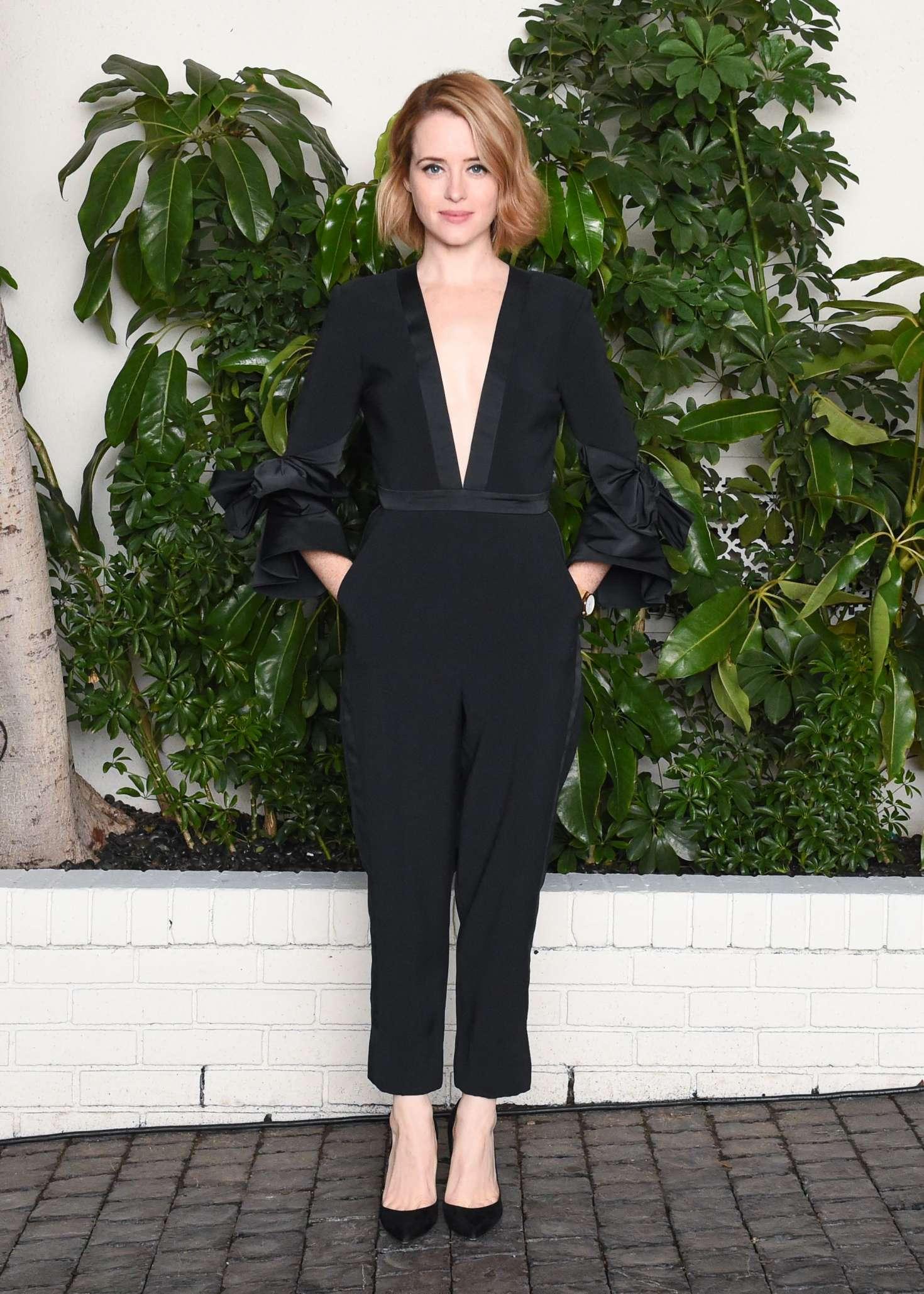 Claire Foy - W Magazine Celebrates Best Performances Portfolio & Golden Globes in LA