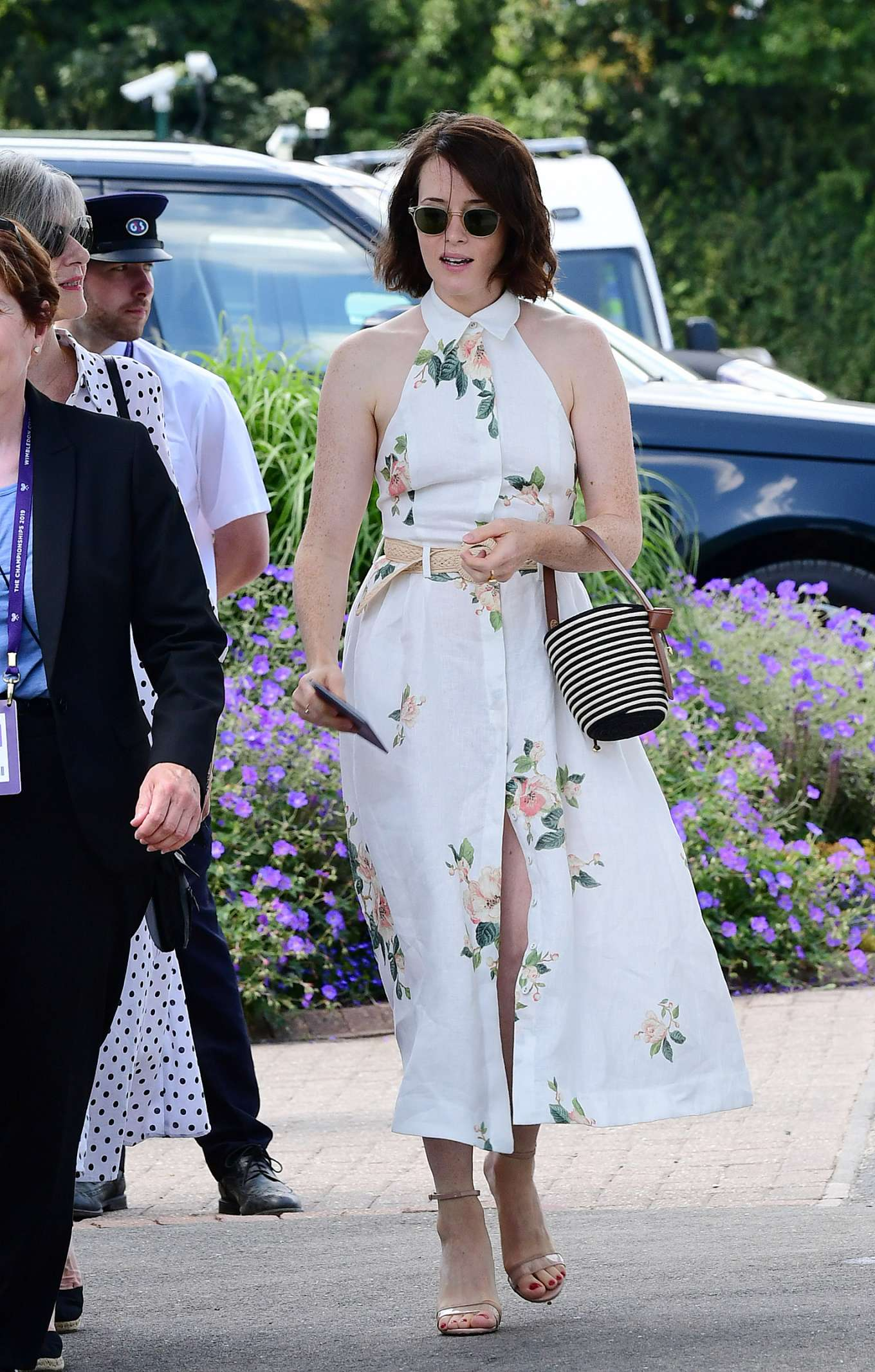 Claire Foy 2019 : Claire Foy – Wimbledon Tennis Championships 2019-01