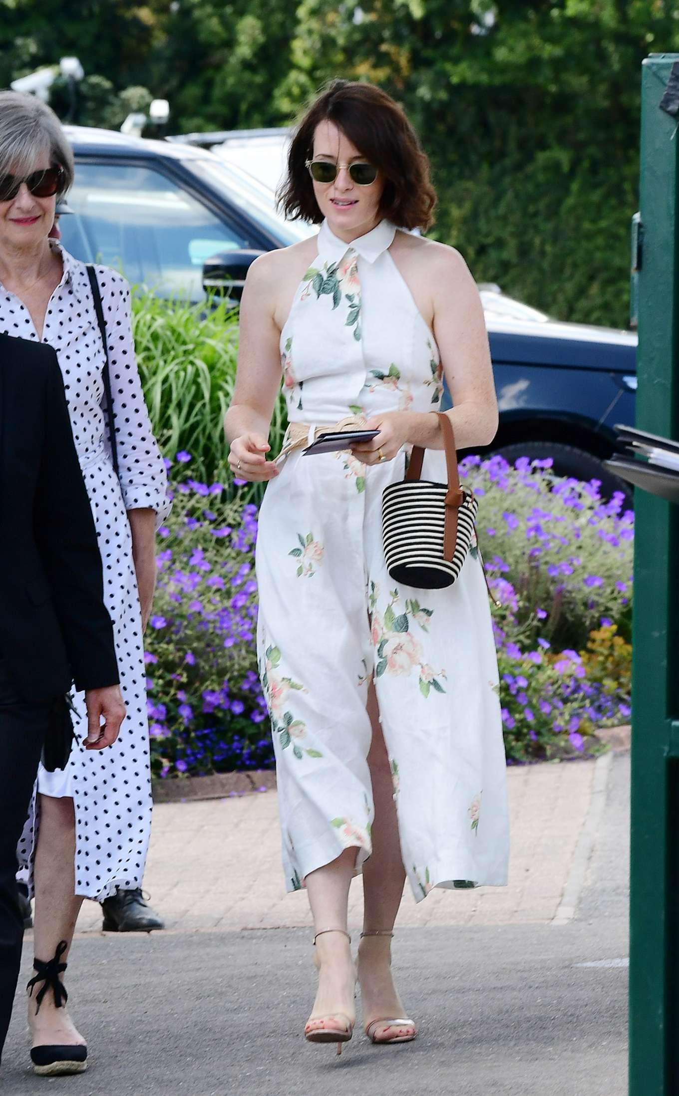 Claire Foy – Wimbledon Tennis Championships 2019-03