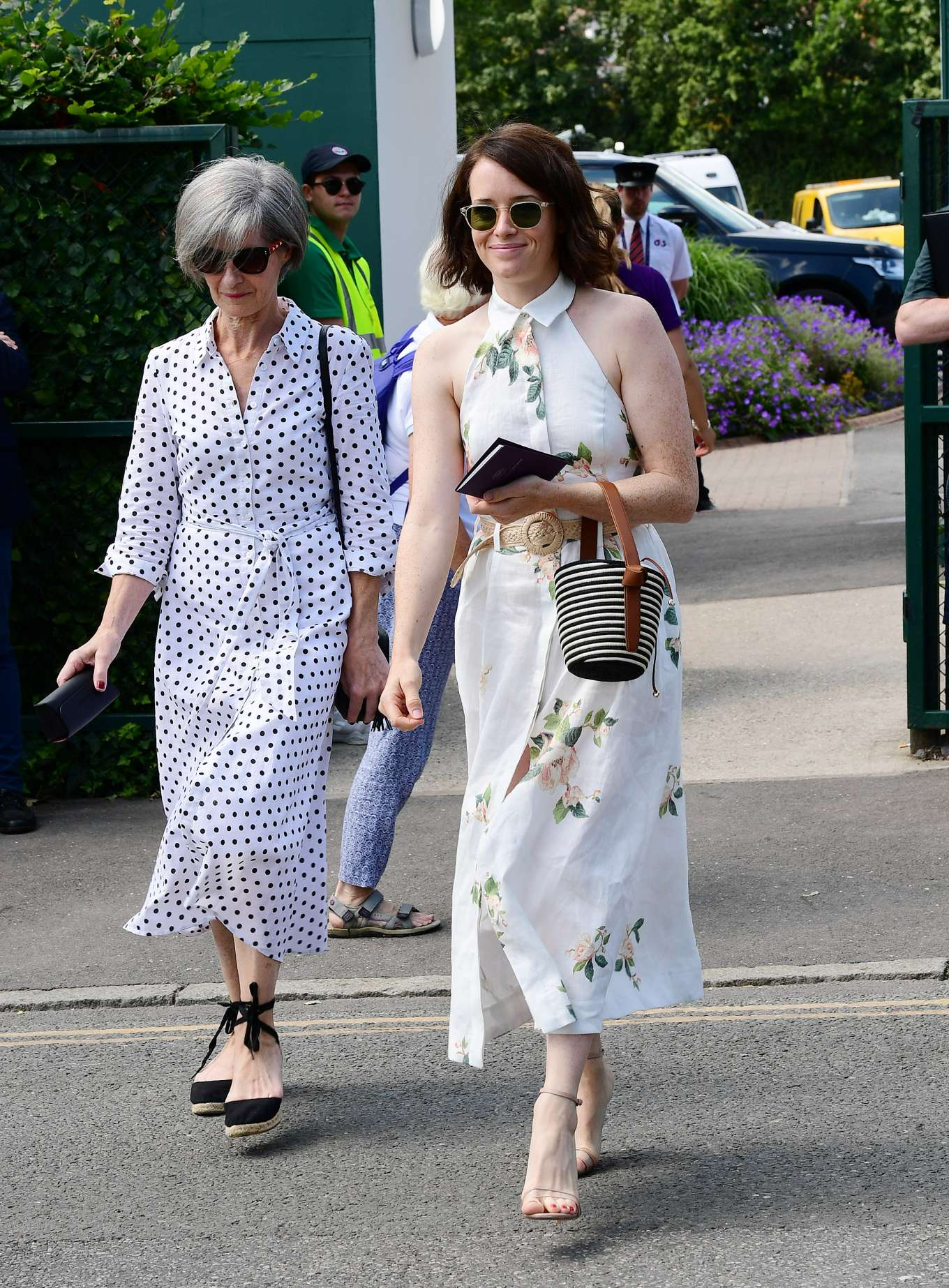 Claire Foy 2019 : Claire Foy – Wimbledon Tennis Championships 2019-04
