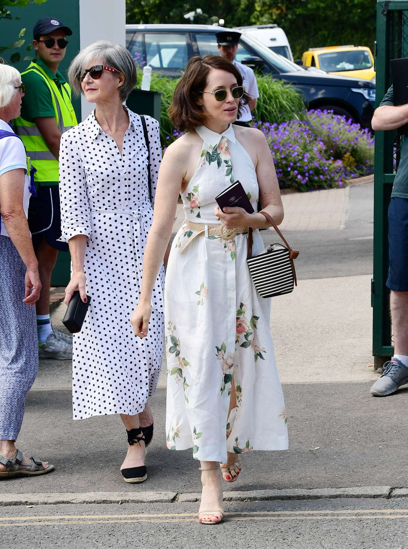 Claire Foy 2019 : Claire Foy – Wimbledon Tennis Championships 2019-07