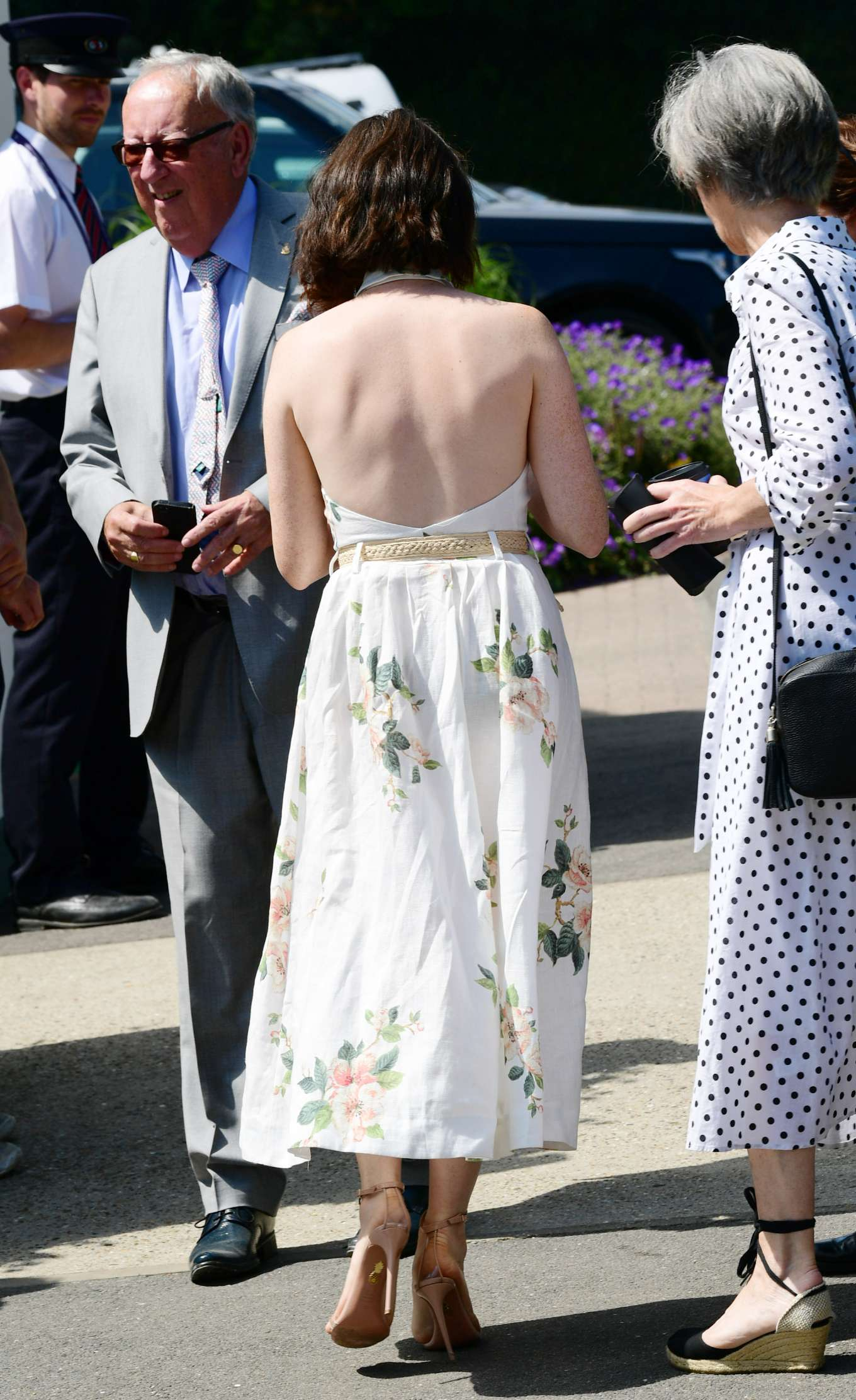 Claire Foy 2019 : Claire Foy – Wimbledon Tennis Championships 2019-08