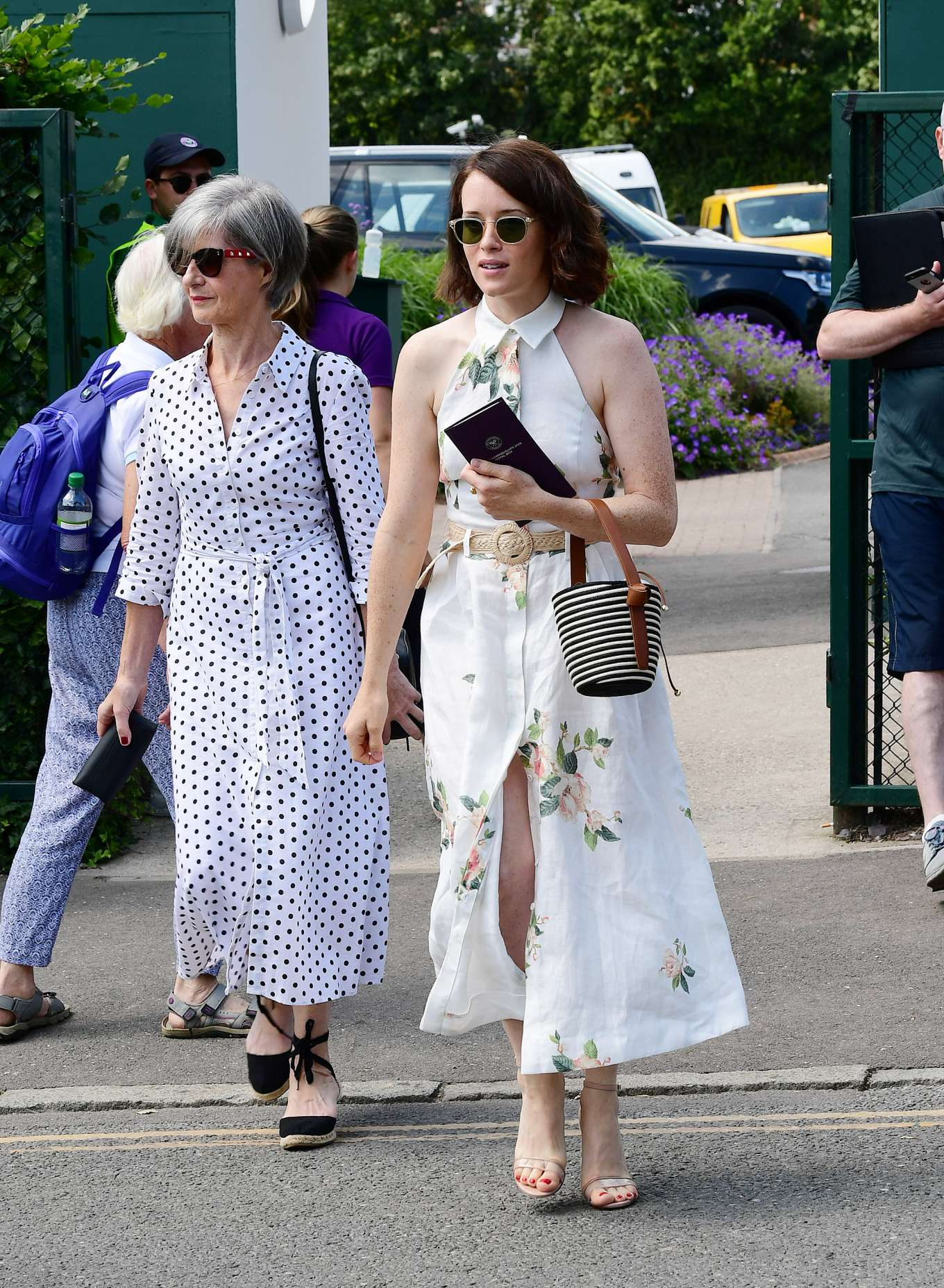 Claire Foy 2019 : Claire Foy – Wimbledon Tennis Championships 2019-10