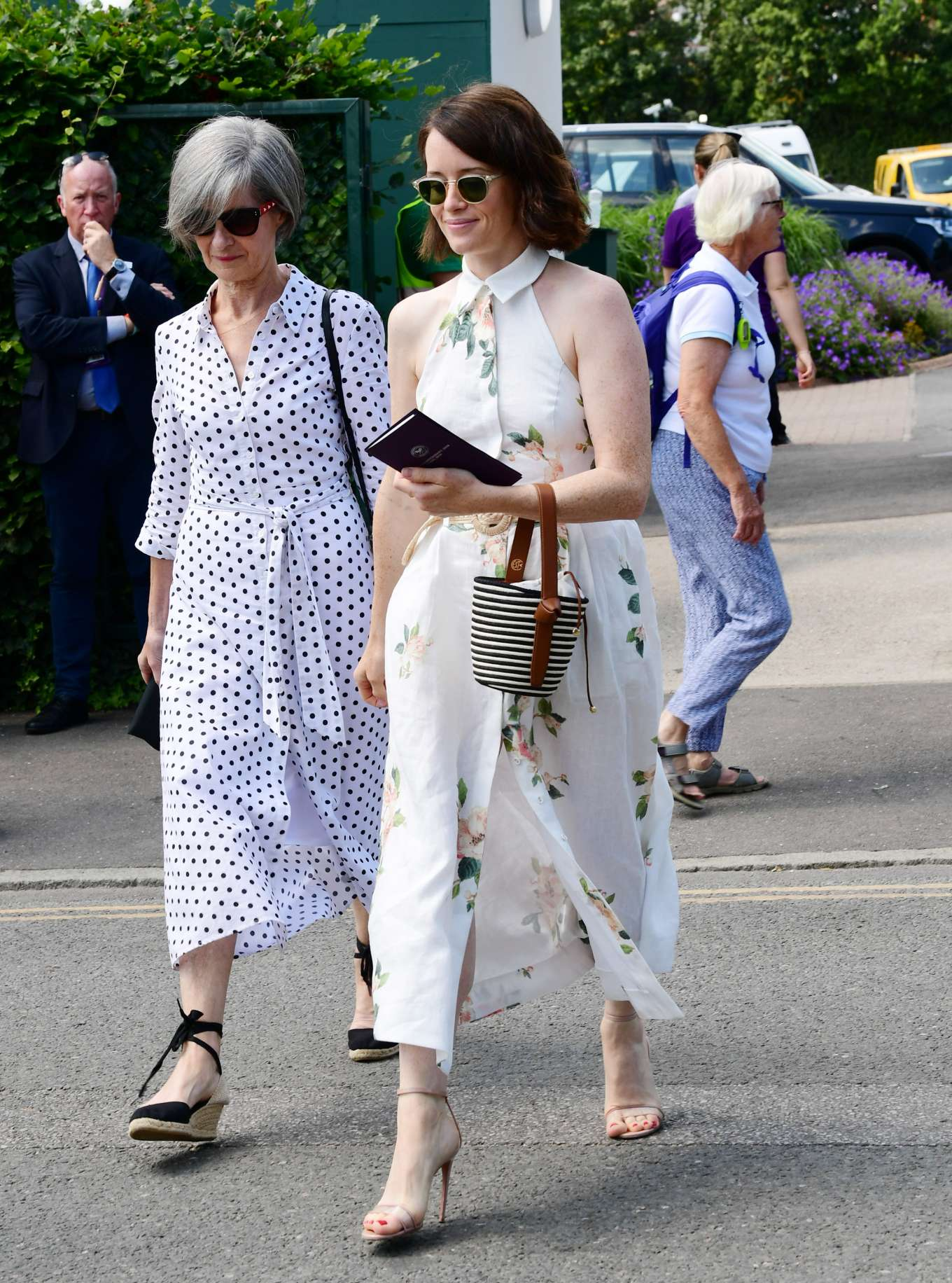 Claire Foy 2019 : Claire Foy – Wimbledon Tennis Championships 2019-12