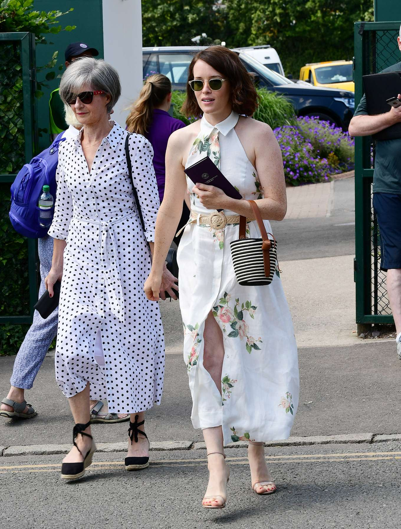 Claire Foy 2019 : Claire Foy – Wimbledon Tennis Championships 2019-13