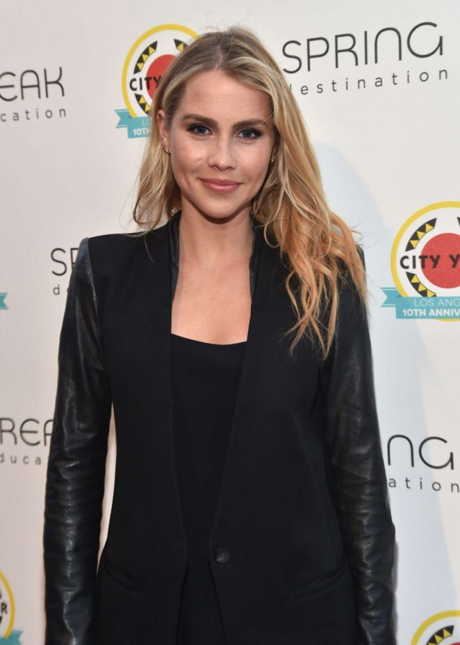 Claire Holt - City Year Los Angeles Spring Break in LA